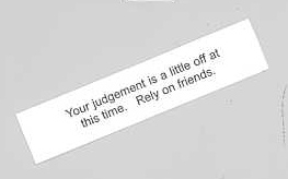 Fortune cookie fortune